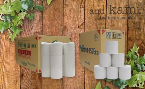 【製品情報】新商品『業務用長尺トイレットペーパー パルフリー』