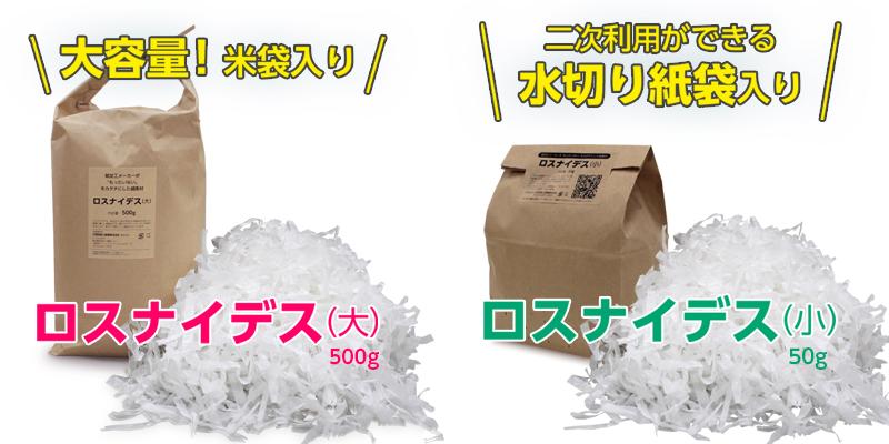 """紙加工メーカーが""""もったいない""""を形にした新商品「ロスナイデス」"""